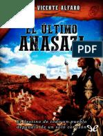 Alfaro, Jose Vicente - El ultimo anasazi [32149] (r1.1)