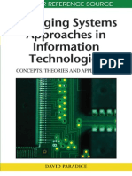 Emerging System Approaches in information Technology