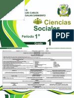 4. Ciencias Sociales - 1° Periodo  I.E. Luis Carlos Galan Sarmiento F