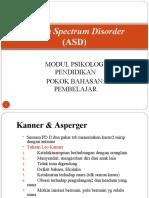 materi ASD-psiko pendidikan