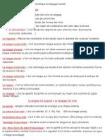 La linguistique