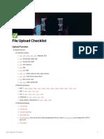 File Upload Checklist_HolyBugx