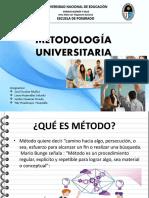 Metodología Universitaria exposicion