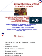 Developing National Repository of Child Health Information for India - Anil Mishra(2)