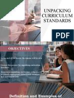 Unpacking-Curriculum-Standards
