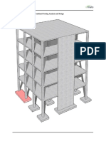 Reinforced Concrete Column Combined Footing Analysis Design