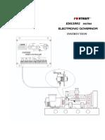 ESG2002系列通用电子调速器说明书V2.2(英文含标志)