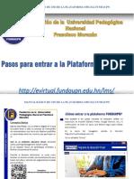 Manual de la plataforma FUNDAUPN