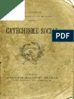 Catéchisme social - Pe. León Dehon, 1898