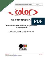 Arzatoare Gaz 3 Gas p40 60