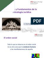 Clase Historia y Fundamentos de la Psicologia Juridica _ UDP (2019)