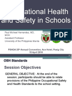 L05 Occupational Health & Safety in Schools