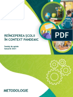 IRES_REINCEPEREA SCOLII IN CONTEXT PANDEMIC_IANUARIE 2021