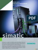 Brochure SIMATIC S7-400 New CPUs s