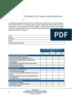 Evaluation des facteurs de RPS v2.1 (1)
