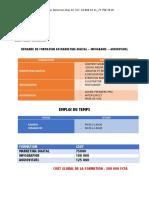 DEMANDE DE FORMATION EN MARKETING DIGITAL – INFOGRAHIE – AUDIOVISUEL