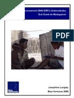 Recensement 2004-2005 à Andavadoaka,Sud Ouest de Madagascar - 2006