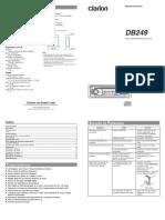 Toca CD ClarionDB249