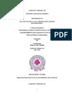 TRAINING AND DEVELOPMENT PROGRAMME OCTL