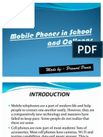 Mobile Phones in School and Colleges