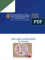 1. Marco Legal y Política Pública de Inclusión en Colombia