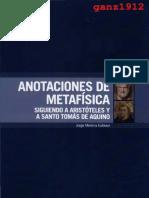 L-Anotaciones de Metafísica-MEDINA ESTÉVEZ
