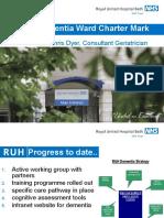 Dementia Ward Charter Mark