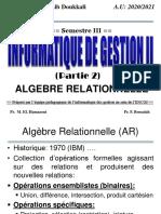 Info2Gest 2021 - Algèbre Relationnelle