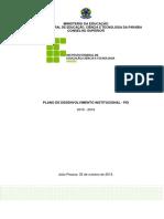 Plano de Desenvolvimento Institucional - 2015_2019