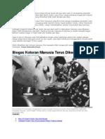 biogas dari kotoran manusia