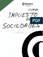 CURSO IMPUESTO SOCIEDADES