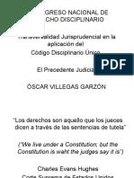 EL PRECEDENTE JUDICIAL