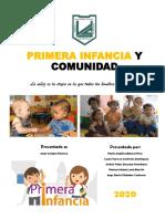 PRIMERA INFANCIA Y COMUNIDAD