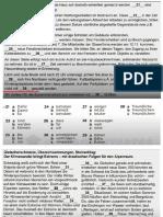 Telc B2 Prüfung Modelltest (6) B2 allgemein Sprachbausteine