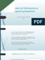 CLASES EMERGENCIA PSIQUIATRICA