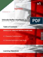 240 - Unicode Buffer Overflows