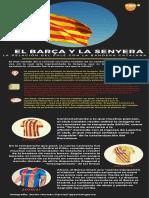 Barcelona Senyera