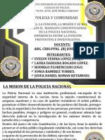 Grupo N° 1-Policia y Comunidad