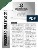 Vestibular Unifor 2021.1 Medicina Prova