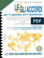 Le Sigle e Gli Accordi Pianoforte Vol 1 r