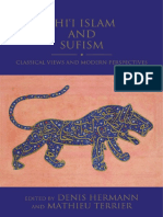 Shi'i Islam and Sufism; Classical Views and Modern Perspectives (2020); eds. Denis Hermann & Mathieu Terrier (388 pages)