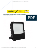 Foco Projector LED 100W 135lm_W HE Frost PRO Regulável - efectoLED