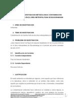 PROYECTO DE INVESTIGACION METODOLOGICA