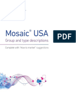 EMS Targeting - Mosaic USA - Group and Type Descriptions -
