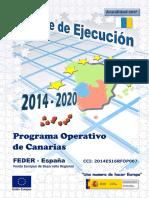 Po Feder Canarias 2014-2020-Informe Ejecucion 2017