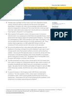 Goldman Sacchs Report 2021
