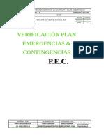 8 FT SST 076 Formato Verificación de Emergencias