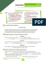 Conjunciones y preposiciones