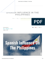 Spanish Influence in the Philippines – the Lifey App