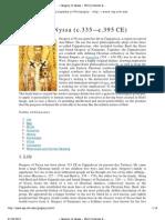 » Gregory of Nyssa  [Internet Encyclopedia of Philosophy]